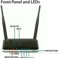 Router 3G 4G D-Link DWR-116 Update Terbaru Share USB Modem to Wifi