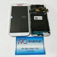 LCD SAMSUNG GALAXY S4 I9500 + TOUCHSCREEN + FRAME FULLSET ORIGINAL AAA