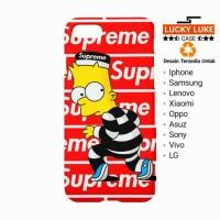 supreme bart case Oppo a37 f1 plus iPhone 6 samsung s7 s8 vivo y53