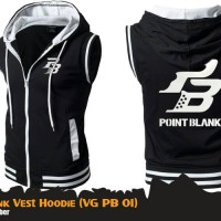 Rompi Jaket Anime Game Point Blank Vest Hoodie (VG PB 01)