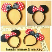 Jual bando Mickey Minnie mouse Murah