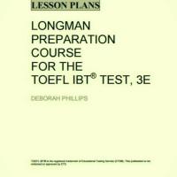 harga Buku Longman Preparation Course For The Toefl Ibt: Lesson Plans Tokopedia.com