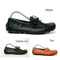 SEPATU SLIP ON MOCCASIN SIMPEL FORMAL PLAYBOY RAVEN MOCASSIN