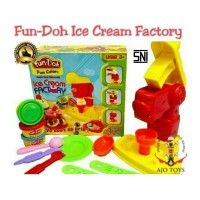 Jual play doug Fun doh ice cream Factory Murah
