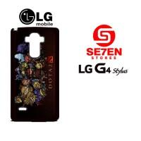 Casing HP LG G4 Stylus dota 2 heroes chibi Custom Hardcase