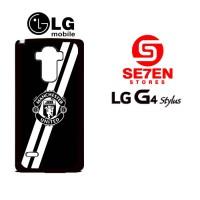 Casing Hp Lg G4 Stylus Manchester United Cross Custom Hardcase