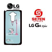 Casing HP LG G4 Stylus Cute Wallpapers 2 Custom Hardcase