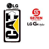 Casing HP LG G4 Stylus caterpillar logo Custom Hardcase