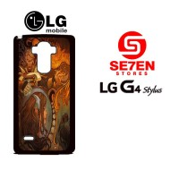 Casing HP LG G4 Stylus dota 2 new bloom 2 Custom Hardcase