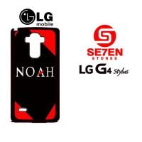 Casing HP LG G4 Stylus Noah Band 2 Custom Hardcase
