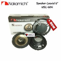 Speaker Coaxial Nakamichi NSC 602i 6 5 inch 2 way Pintu Mobil 6 5inc