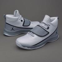 Sepatu Basket Jordan Super Fly 5 PO White