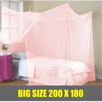 Produk Rumah tangga terbaru Kelambu Kotak Gantung 180x200 TIARA