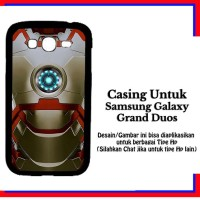 Casing Samsung Galaxy Grand Duos ironman 2 Custom Hardcase