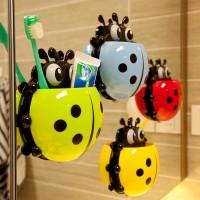 aksesoris kamar mandi tempat peralatan sabun sikat gigi holder kumbang