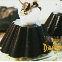 Bahan Puding Dark Chocolate Murah Enak