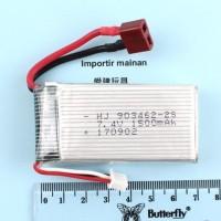 new baterai lipo FY-03 2s 7.4V 1500mAH lipo battery 903462 rc car feiy