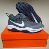Sepatu Basket KuliahNike Zoom Hyperrev 2017 Abu