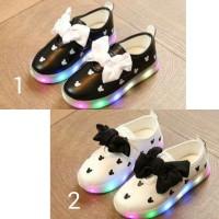 harga Sepatu Anak Terbaru Mickey Led Kids Sepatu Kets Perempuan Bisa Nyala Tokopedia.com