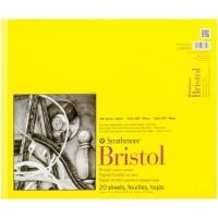 "Strathmore 300 Series Bristol 14"" x 17"" Vellum - 20 Sheets"