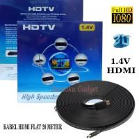 Jual Kabel HDMI Flat 20 Meter Versi 1.4 3D 1080HD/HDMI 20M-2.4K Murah
