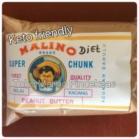 Jual Diet keto super chunk pindekaas/peanut butter (no sugar), 500 gram Murah