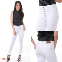 Celana Panjang Highwaist Kancing 5 JSK Jeans Original Produk Jeans