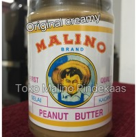 Jual Original creamy pindekaas/peanut butter/ selai kacang (manis), 350 gr Murah