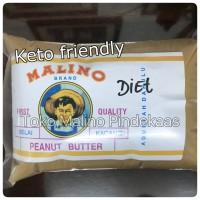 Jual Diet keto creamy pindekaas/peanut butter/selai kacang (no sugar) 500 g Murah