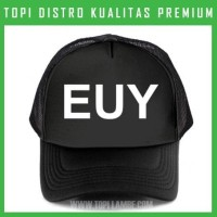 topi EUY Trucker Baseball Snapback TMB678 Distro