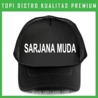 topi SARJANA MUDA Trucker Baseball Snapback TMB638 Distro