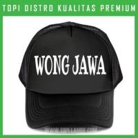 topi Wong Jawa Trucker Baseball Snapback TMB512 Distro