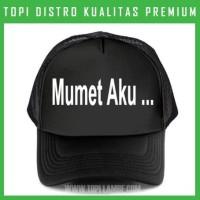 topi mumet aku Trucker Baseball Snapback TMB485 Distro
