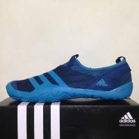 Sepatu Outdoor Adidas Climacool Jawpaw Slip On Sky Blue S80816 Ori