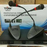 harga Mic Meja Wireless Tum Tm-8802/microphone Conference Tum Tm 8802 Tokopedia.com