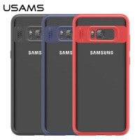 USAMS Armor Hard Soft Case Cover Casing HP Samsung Galaxy S8 Plus S8+