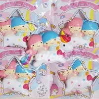 Terlaris Squishy Little Twin Star Unicorn Licensed by Angie