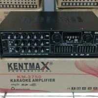 harga Power Ampli Kentmax Km-2750 3ch/amplifier Karaoke Tokopedia.com