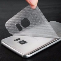 3D Carbon Back Screen Guard Samsung Galaxy NOTE 2 3 4 5 note 3 neo g