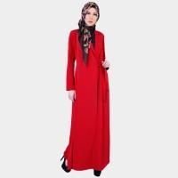 Zoya Gamis Muslimah Dress Motif Polos - Zulma Dress