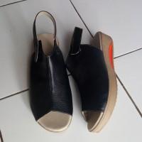Sepatu Sandal Kulit 3cm Asli Garut Sukaregang