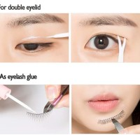 (Dijamin) MISSHA Salon De Lash Glue & Double Eyeline Glue (Clear)