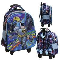 Tas Trolley Anak TK - Marvel Batman 5D Timbul Hologram 2 Kantung Bir