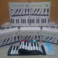 Piano Hand Roll Up / Gulung 49#Y Portable Untuk Anak