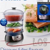Panci Kukus Philips Steam Cooker HD-9140 00245.00001 Murah