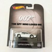 Hot Wheels 007 The Spy Who Loved Me Lotus Esprit E1 (ban karet)