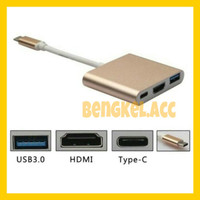 USB TYPE C 3.1 TO HDMI MULTI PORT 3.0 CHARGER NEW MACBOOK 12 CONVERTER