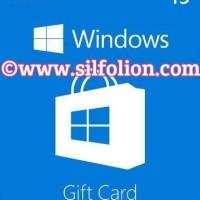 Microsoft Windows Store Gift Card $15