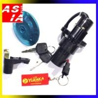harga Kunci Kontak Variasi Motor Assy Merk Orginal Yuzaka Yamaha Vixion Tokopedia.com