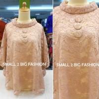 Dress Kaftan / Muslim / Gamis Maxi LEBARAN 2016 Full Brokat